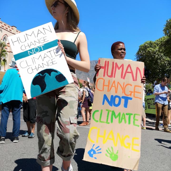Climate Strike Cape Town